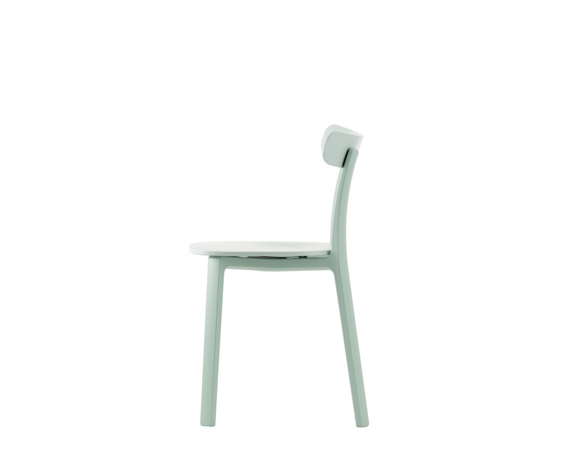 Vitra - All Plastic Chair - eisgrau - 3