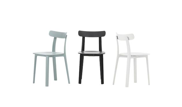 Vitra - All Plastic Chair - ijsgrijs - two tone - 4