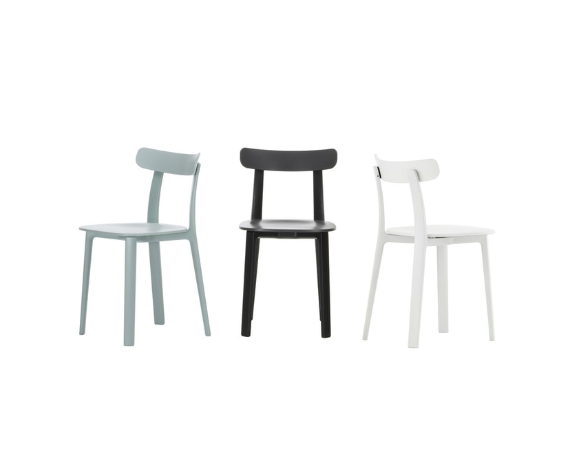 Vitra - All Plastic Chair - eisgrau - 4