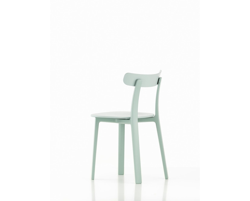 Vitra - All Plastic Chair - eisgrau - 1