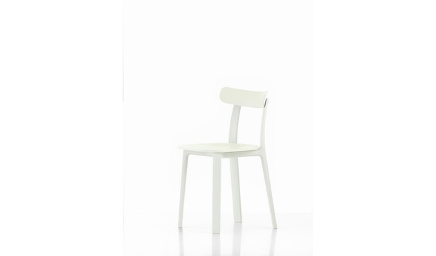 Vitra - All Plastic Chair - weiß - 1