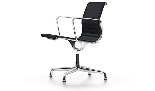 Vitra - Aluminium Chair - EA 108, Gestell poliert, Filzgleiter Hartboden - Hopsak - 66 nero - 1