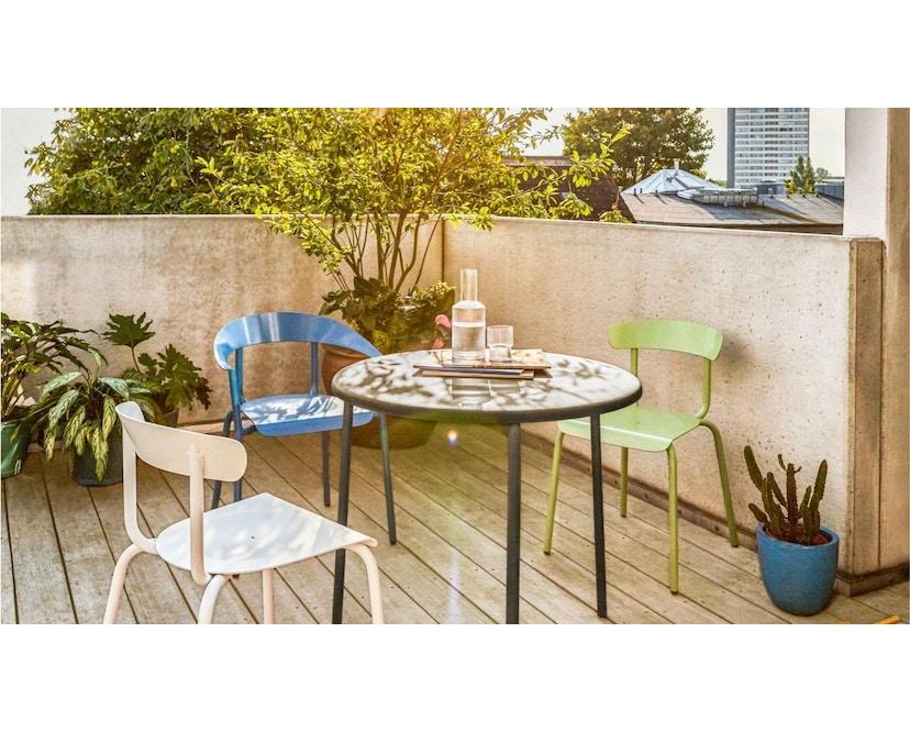 Conmoto - ALU MITO Outdoor Tisch  - weiß - 2