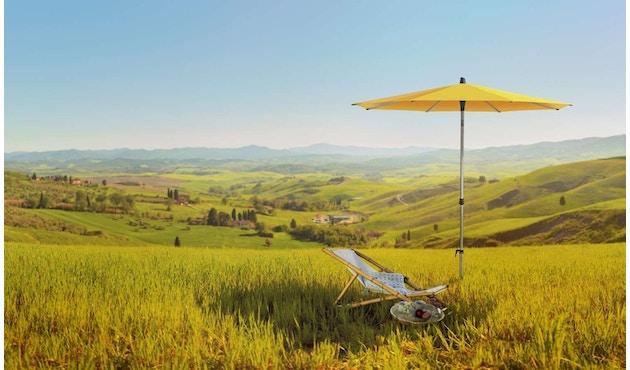 Glatz - Alu-Smart Sonnenschirm rund - sugar grass - 200 - 3