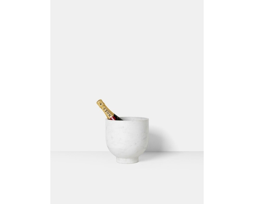 ferm LIVING - Alza Champagner Kühler - 5
