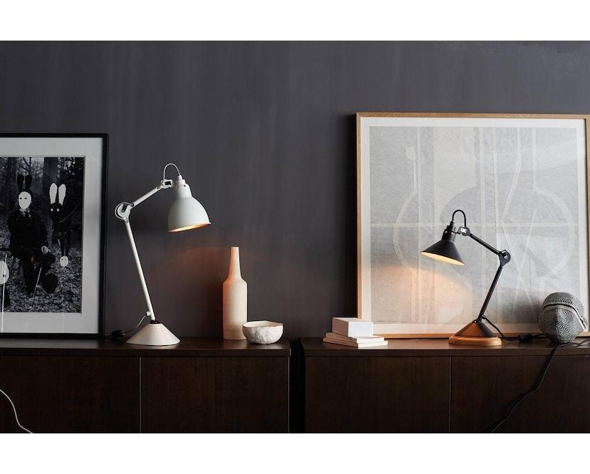 DCW éditions - LAMPE GRAS N°207 schwarz Tischleuchte - 2