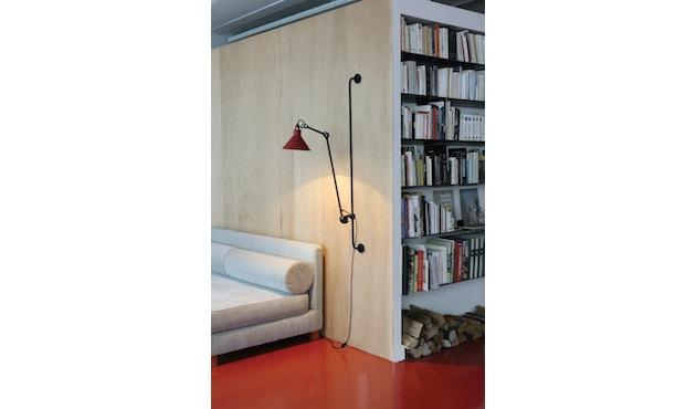 DCW éditions - LAMPE GRAS N°214 Wandleuchte - schwarz - rund - 6