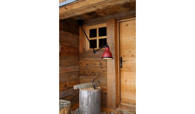 DCW éditions - LAMPE GRAS N°304 XL 75 OUTDOOR SEASIDE Wandleuchte - rot - 2