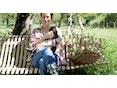 Fermob - Charivari tuinbank - 01 katoenwit - dropjes - 2