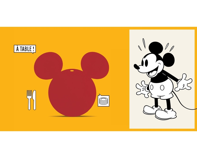 Fermob - Mickey Mouse© Untersetzer - 73Honig - 2