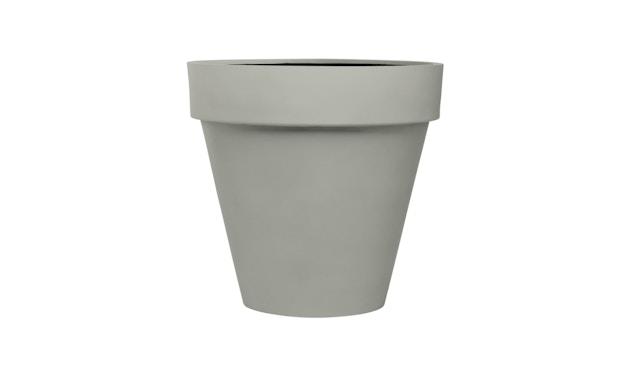Amei - Der mit dem Rand Pflanzentopf - grau - S - 0