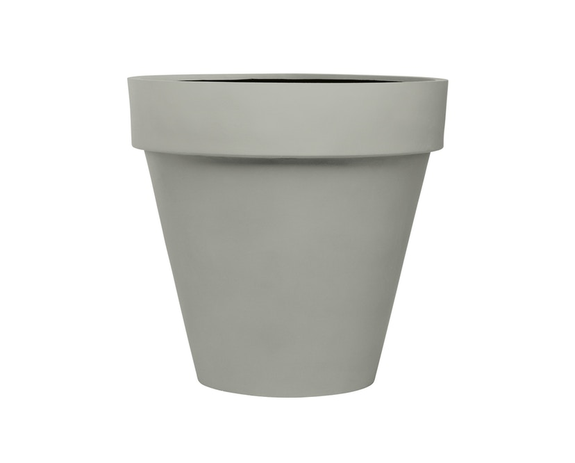 Amei - Der mit dem Rand Pflanzentopf - grau - L - 0