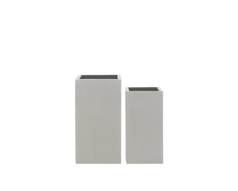 Amei - Der hohe Quadratische Pflanzentopf - grau - S - 2