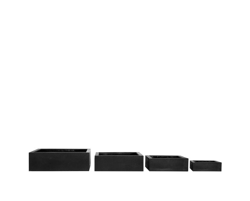 Amei - Der Quadratische Pflanzentopf - schwarz - XS - 2