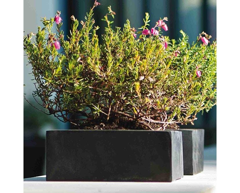 Amei - Der Quadratische Pflanzentopf - schwarz - XS - 3