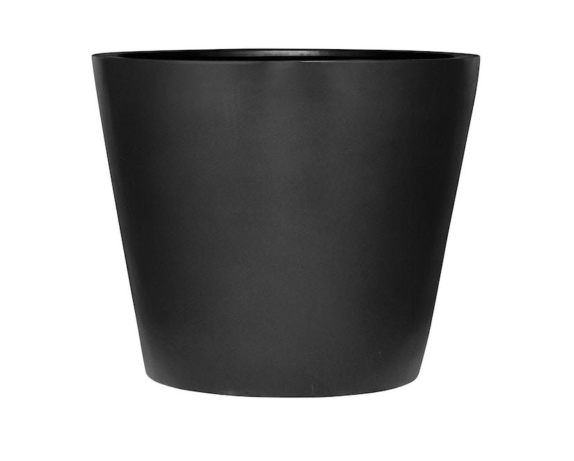Amei - Der Runde Pflanzentopf - schwarz - M - 1