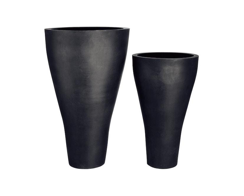 Amei - Der Konische Pflanzentopf - schwarz - XL - 3