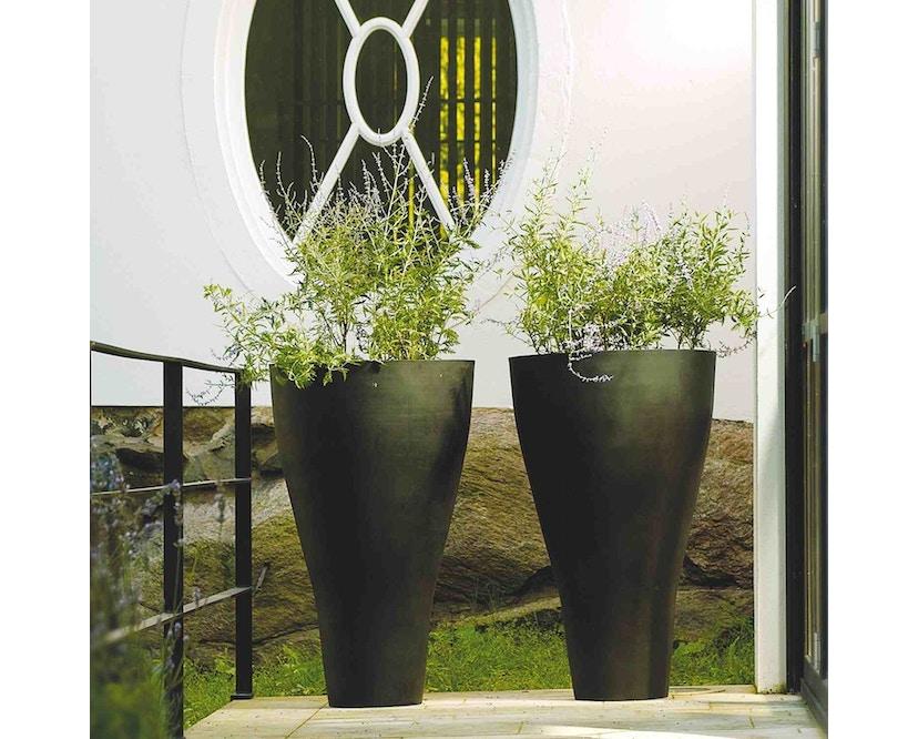 Amei - Der Konische Pflanzentopf - schwarz - XL - 2