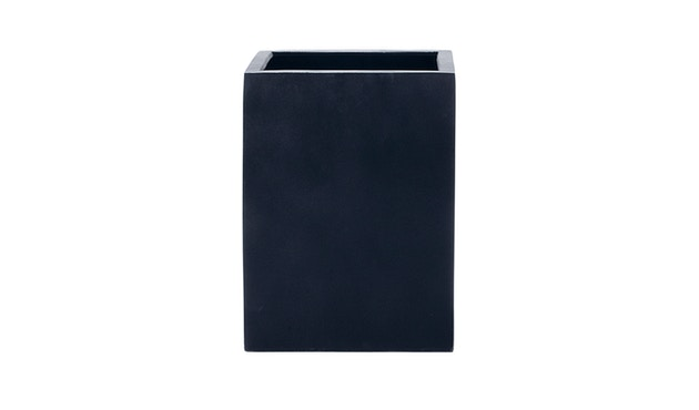 Amei - Der hohe Quadratische Pflanzentopf - schwarz - XS - 1