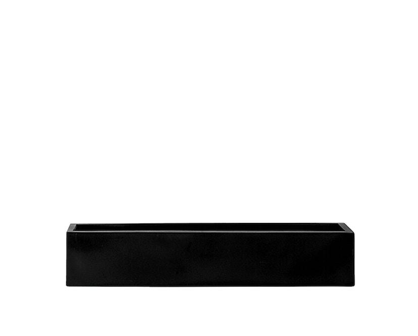 Amei - Der Lange Pflanzentopf - schwarz - M - 1
