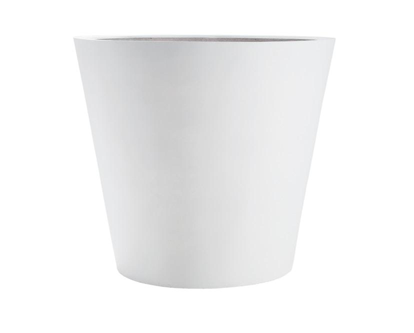 Amei - Der Runde Pflanzentopf - weiß - XS - 1