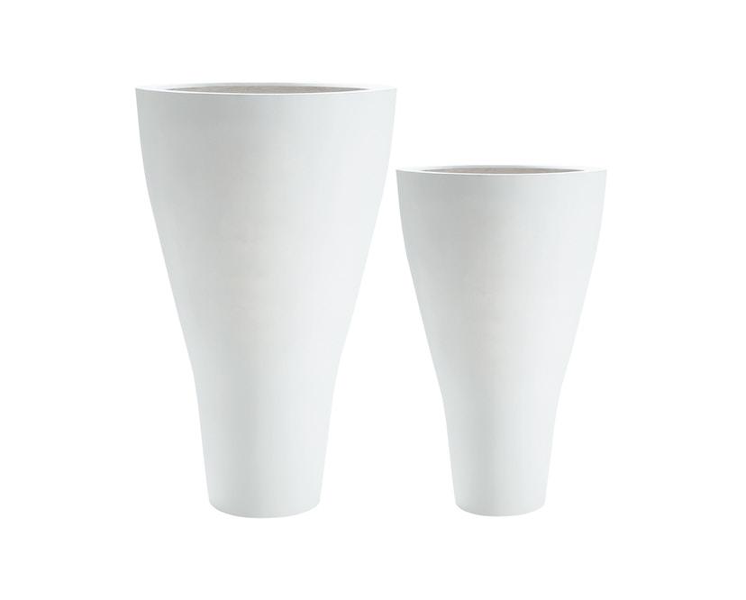 Amei - Der Konische Pflanzentopf - weiß - XXL - 3