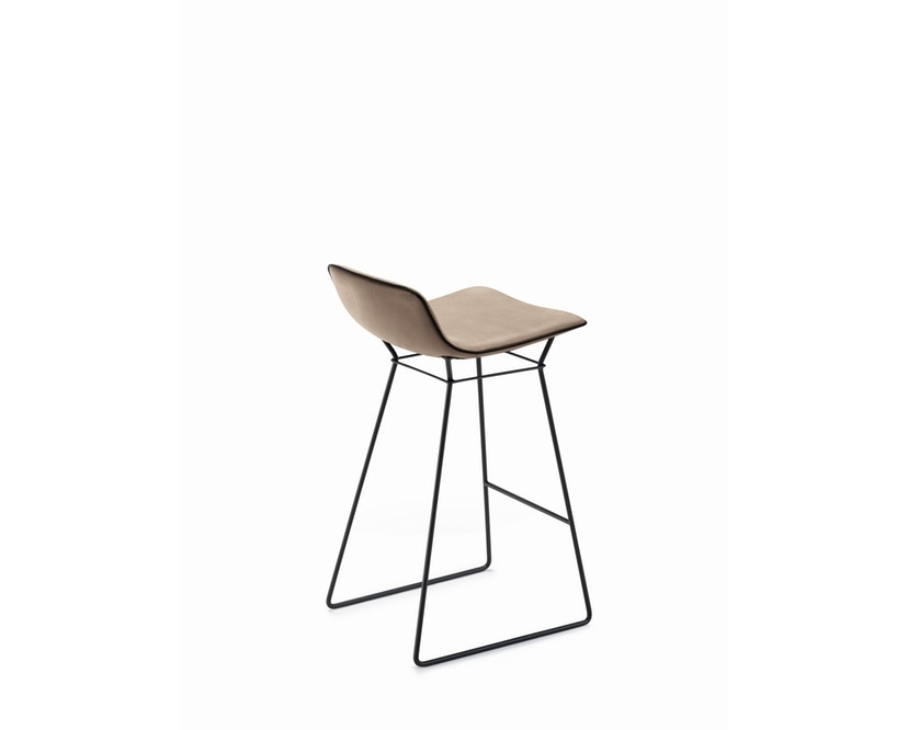 FREIFRAU - Amelie Counter Stuhl niedrig - Leder Sahara Platino - 2