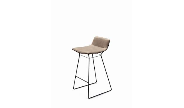 FREIFRAU - Amelie Counter Stuhl niedrig - Leder Sahara Platino - 1
