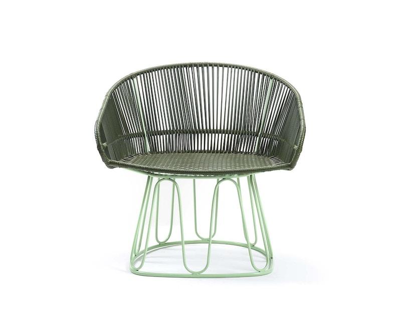 Ames - Circo Lounge Stuhl - oliv - menta - 1