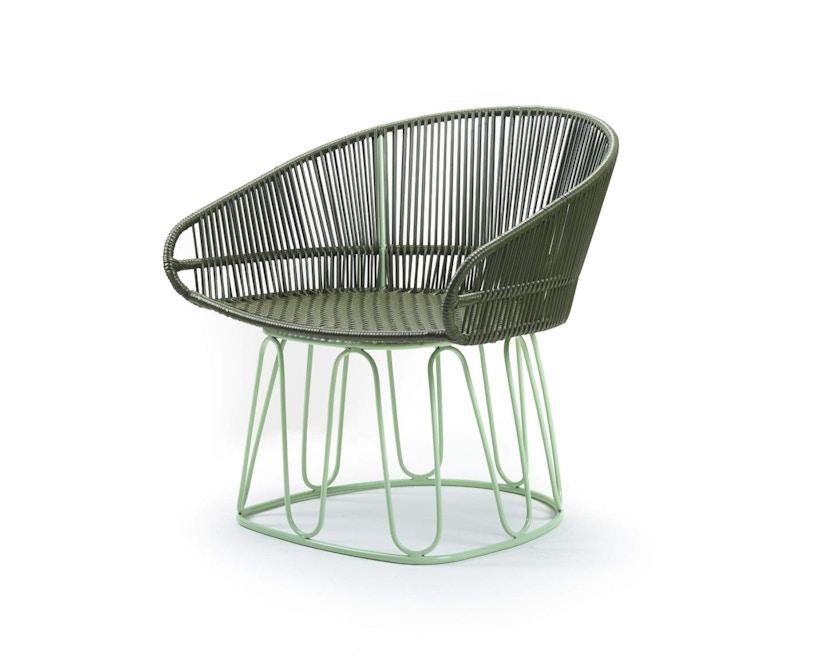 Ames - Circo Lounge Stuhl - oliv - menta - 2
