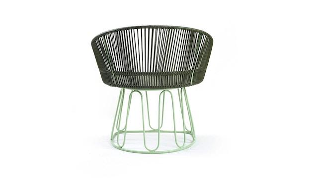 Ames - Circo Lounge Stuhl - oliv - menta - 4