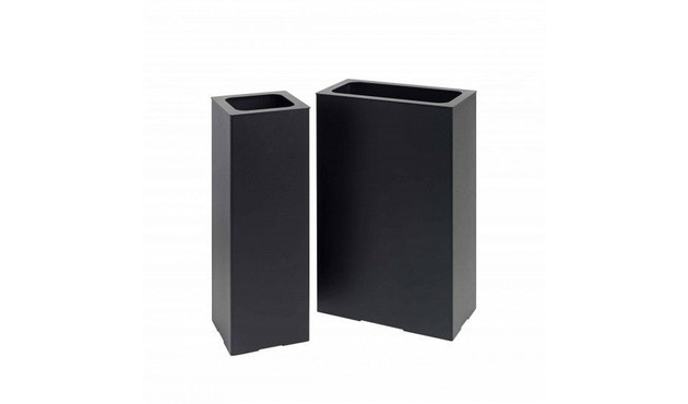 Schönbuch - Angle Schirmständer - .198 schwarz - quadratisch - 5
