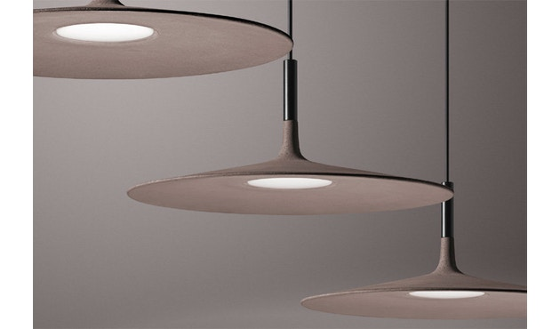 Foscarini - Aplomb Large Hanglamp - grijs - wit - niet dimbaar - 2