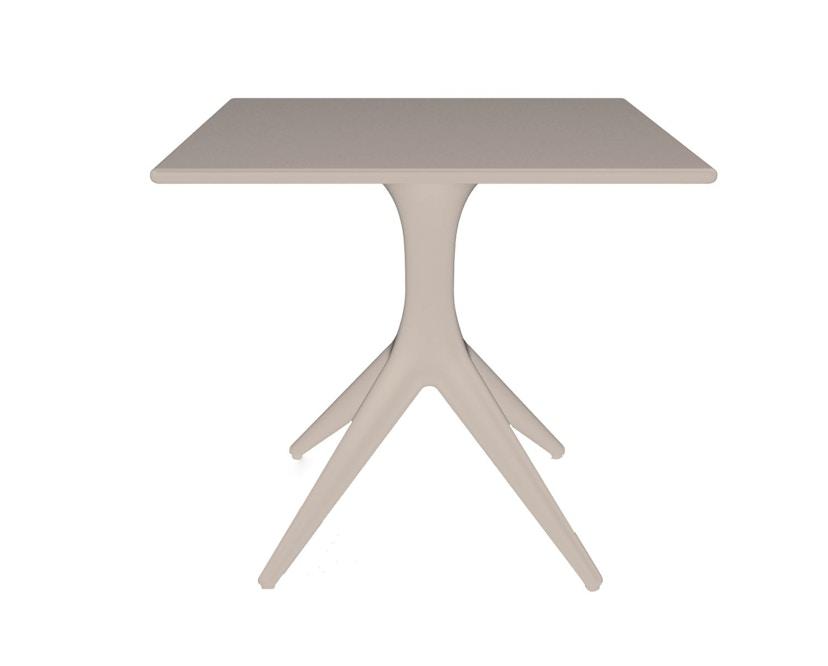 Driade - App Outdoor Tisch - puderfarbig - 1