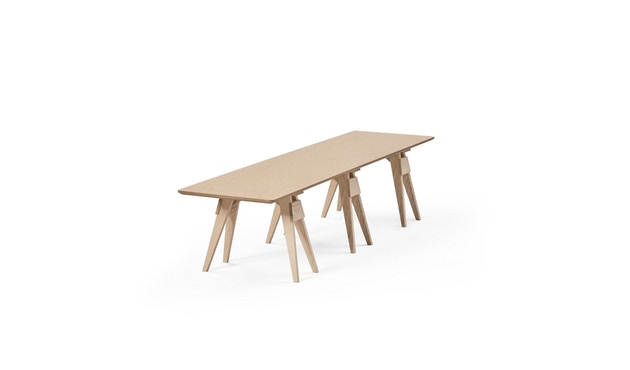 Design House Stockholm - Arco Tisch- und Bankplatte - Eiche - 2