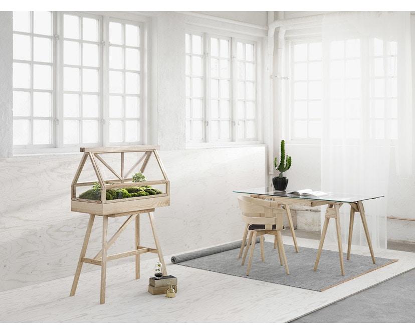 Design House Stockholm - Arco Schreibtisch - weiß - 3
