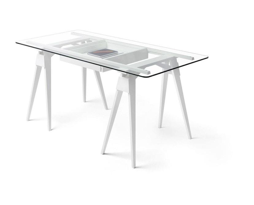 Design House Stockholm - Arco Schreibtisch - weiß - 1