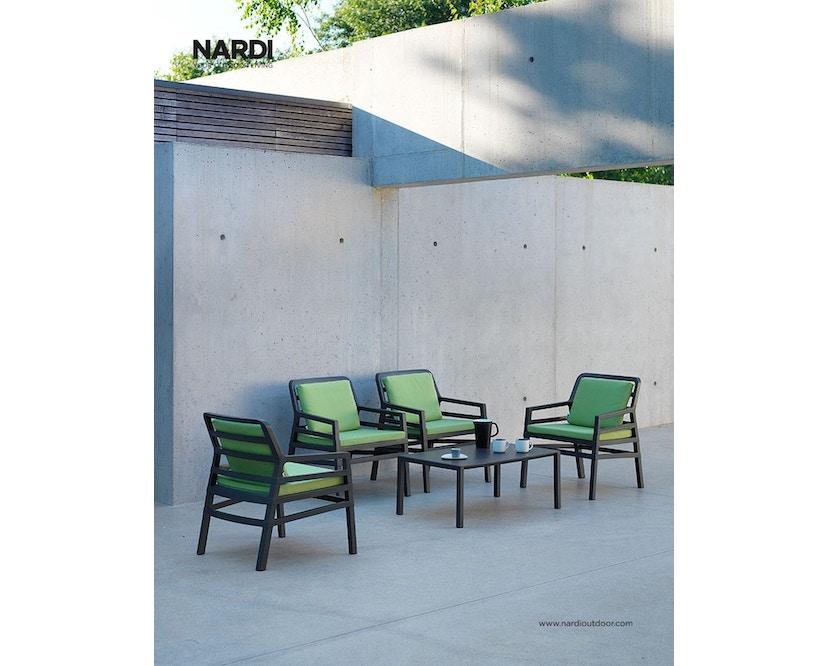 Nardi - Aria 100 Beistelltisch - weiß - 4