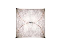 Flos - Ariette Wand- und Deckenleuchte quadratisch - 130 cm - Natur - 1