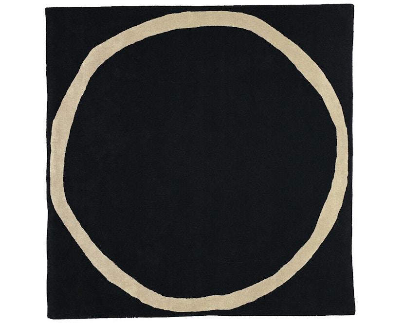 Nanimarquina - Aros square vloerkleed - zwart - 200 x 200 cm - 1