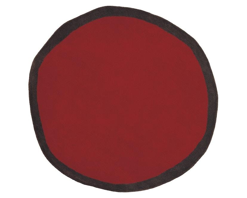Nanimarquina - Aros round Teppich - rot - Ø 100 cm - 1