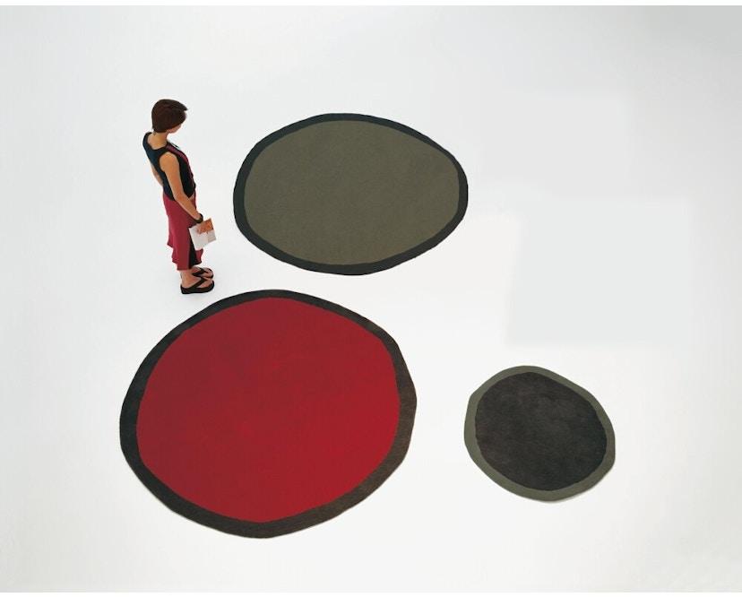 Nanimarquina - Aros round Teppich - rot - Ø 100 cm - 2