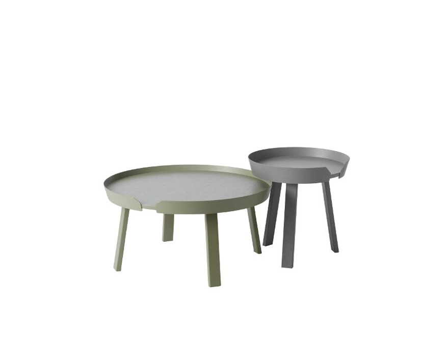 Muuto - Around Tisch L dusty green - 3