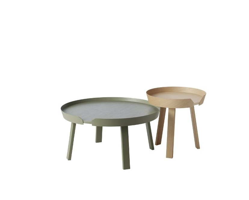 Muuto - Around Tisch L dusty green - 2