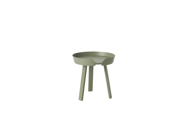 Muuto - Table d'appoint Around S - vert vase - 1
