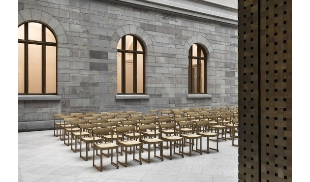 Artek - Atelier Stuhl - Buche natur, klar lackiert - 6