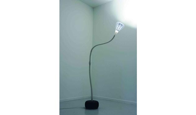 Artemide - Pipe LED Stehleuchte - weiß / transparent - 2