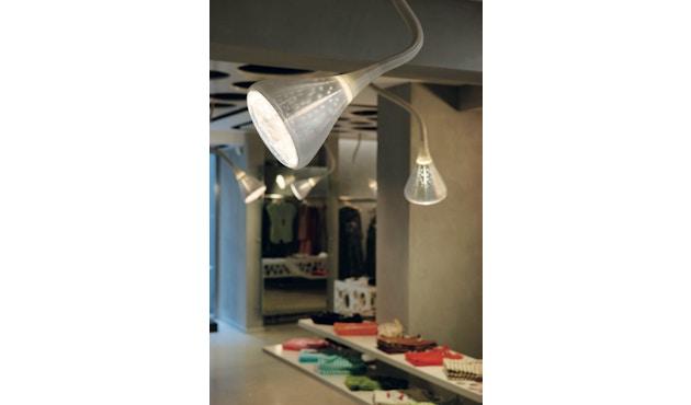 Artemide - Pipe LED Wand- & Deckenleuchte - weiß / transparent - 3