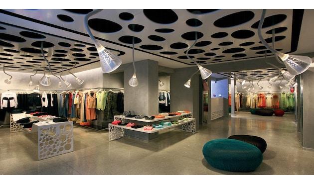 Artemide - Pipe LED Wand- & Deckenleuchte - weiß / transparent - 4