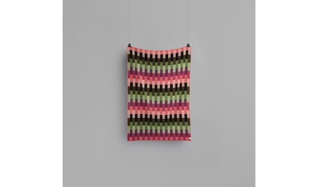 Roros Tweed - Asmund Bold Decke - pink-green - 2